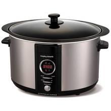Morphy Richards 6.5L Digital Sear & Stew Slow Cooker - Steel