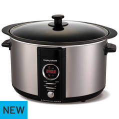 Morphy Richards 6.5L Sear & Stew Slow Cooker - St Steel