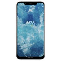 SIM Free Nokia 8.1 64GB Mobile Phone - Silver
