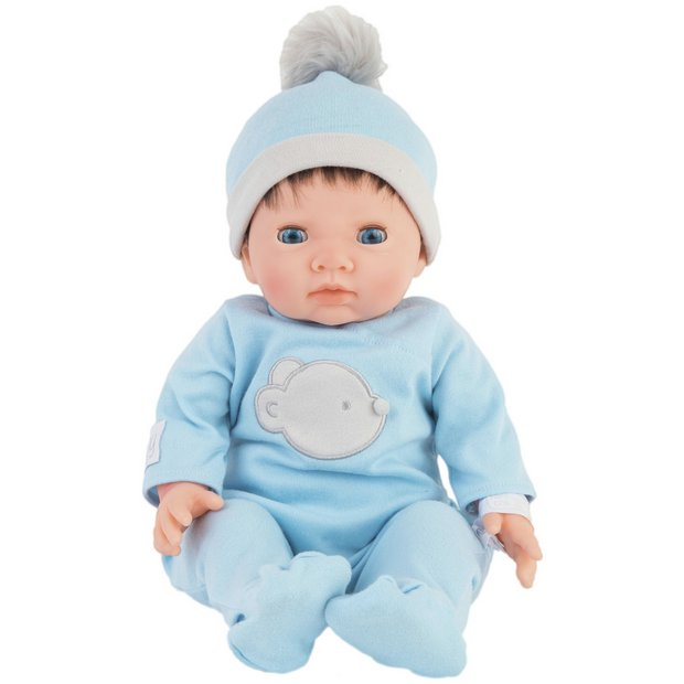 Buy Chad Valley Tiny Treasures Doll with Blue Outfit   Dolls   Argos