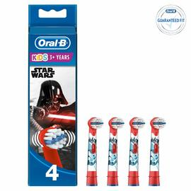 Oral-B Star Wars Kids Electric Toothbrush Heads - 4 Pack