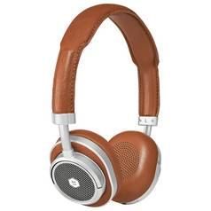 Master & Dynamic MW50+ On/Over Ear Wireless Headphones-Brown