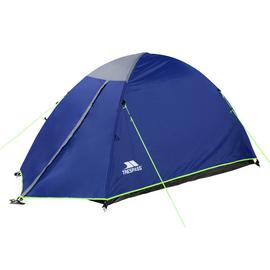 Trespass 2 Man 1 Room Darkened Room Dome Camping Tent