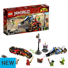LEGO Ninjago Kais Blade Cycle & Zane's Toy Vehicles - 70667