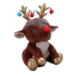 Argos Home Rocking Reindeer Animated Soft Toy
