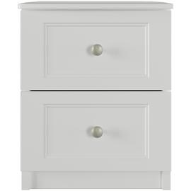 One Call Bexley 2 Drawer Bedside Table