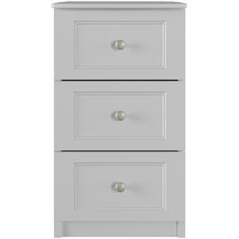 One-Call Bexley 3 Drawer Bedside Table