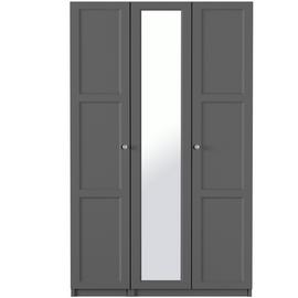 One-Call Bexley 3 Door Mirror Wardrobe