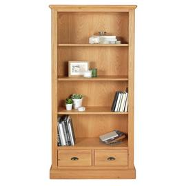 Argos Home Oakham Large 2 Drawer Bookcase