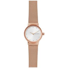 Skagen Rose Gold Coloured Ladies Stainless Steel Watch