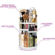 Rio Cosmetic and Brush Storage Carousel