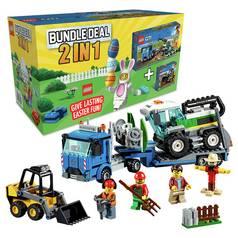 Lego Duplo My First Large Playground Brick Box Toy 10864 At Argos