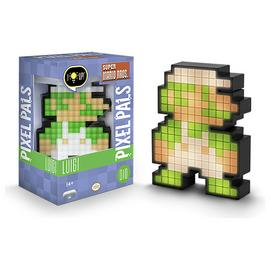 Pixel Pals: Super Mario Light-Up Figure - 8-Bit Luigi