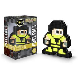 Pixel Pals: Mortal Kombat Light-Up Figure - Scorpion