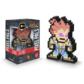 Pixel Pals: Street Fighter Light-Up Figure - Akuma