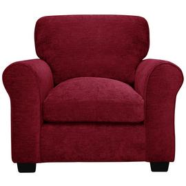 Argos Home Tammy Fabric Armchair - Wine