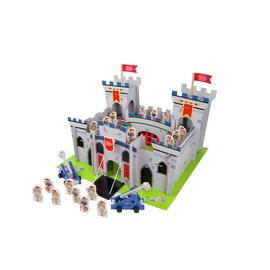 Chad Valley Knights Wooden Castle