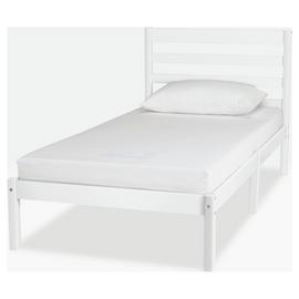 Argos Home Kaycie White Bed & Kids Mattress