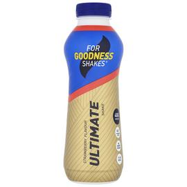 For Goodness Shakes Ultimate Strawberry Protein Shake x 10
