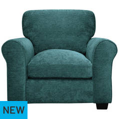 Argos Home Tammy Fabric Armchair - Teal