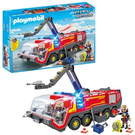 Playmobil 5337 Airport Fire Engine