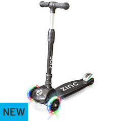 Zinc Black Folding T-Motion Tri Scooter