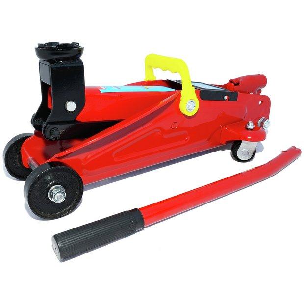Buy Hilka 2 Tonne Car Trolley Jack Car Tools Argos
