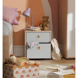 Argos Home Camden 2 Drawer Bedside Chest