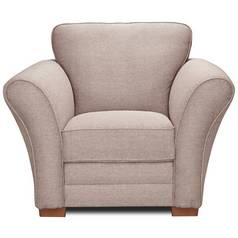 Argos Home New Thornton Fabric Chair - Old Rose