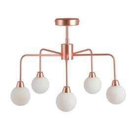 Habitat Boyd Flush Ceiling Light - Copper