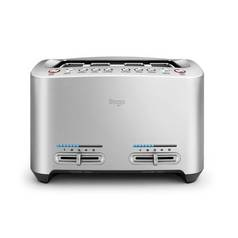 Sage BTA845UK The Smart 4 Slice Toaster - Stainless Steel