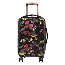 it Luggage Expandable 8 Wheel Hard Cabin Suitcase - Floral