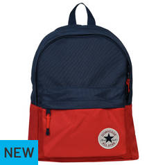 5f439d4a4a Converse All Star Backpack - Navy Blue and Red