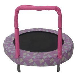 Bazoongi Butterfly Mini Bouncer Trampoline