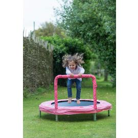 Bazoongi Bunny Mini Bouncer Trampoline