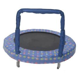 Bazoongi Robot Mini Bouncer Trampoline