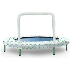 Bazoongi Snow Flake Mini Bouncer Trampoline