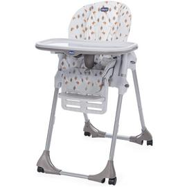 Chicco Polly Easy 4 Wheel Highchair - Romantic