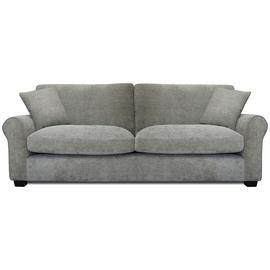 Argos Home Tammy 4 Seater Fabric Sofa - Mink