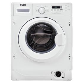 Bush WMNSINT812W 8KG 1200 Integrated Washing Machine - White