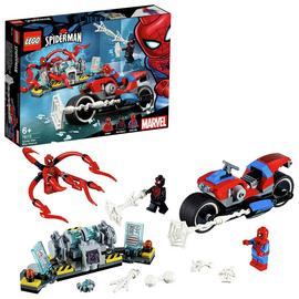LEGO 76113 Super Heroes Spider-Man Bike Rescue Building Set, Marvel Toy Vehicles for Kids Best Price and Cheapest