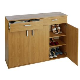 Argos Home Venetia Large 3 Door 2 Drawer Shoe Cabinet