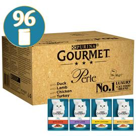 Gourmet Perle Cat Food Chef's Collection 96x85g