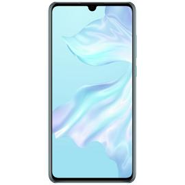 SIM Free Huawei P30 128GB Mobile Phone-Crystal