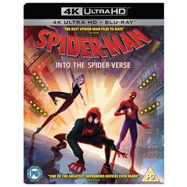 Spider-Man: Into the Spider-Verse 4K UHD Blu-Ray