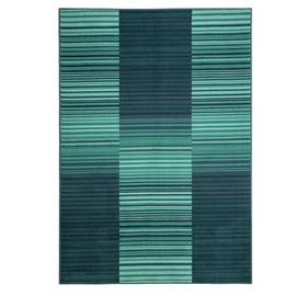 Habitat Abstract Stripe Rug - 120x170cm - Blue