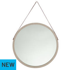 Argos Home Coastline Round Hanging Mirror