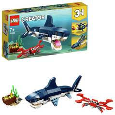 LEGO Creator Deep Sea Creatures Toy Shark Playset - 31088