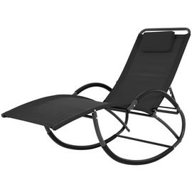 Vivere Wave Laze Chair - Black