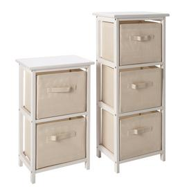 Argos Home 2 and 3 Drawer Bathroom Units - White